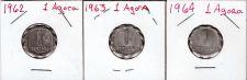Buy 1962, 1963 & 1964 Israel 1 Agora