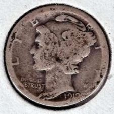 Buy 1919 Mercury Dime
