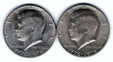 Buy 1976 P & D Bicentennial Kennedy Half Dollars