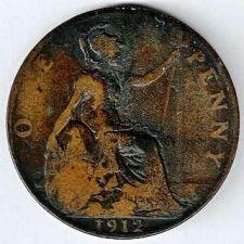 Buy 1912 Great Britain Penny