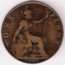 Buy 1907 Great Britain Penny