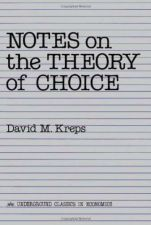 Buy Notes On The Theory Of Choice (Underground Classics in Economics) Paperback New