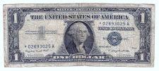 Buy 1957 $1 Star Note Silver Certificate