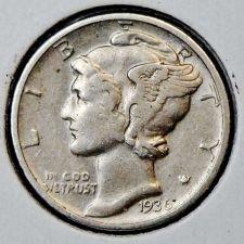 Buy 1936-D Mercury Dime