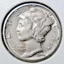 Buy 1944-P XF Mercury Dime
