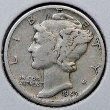 Buy 1945-D Mercury Dime