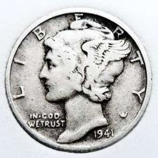 Buy 1941-D Mercury Dime