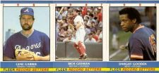 Buy 1987 Fleer Record Setters 3 Card Lot: #10 Garber, #11 Gedman, #12 Gooden