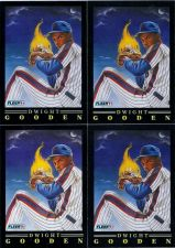 Buy Lot of 4 1991 Fleer Pro Visions Dwight Gooden #7 NM Cards