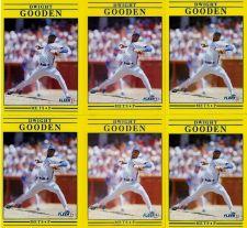 Buy Lot of 6 1991 Fleer #148 Dwight Gooden