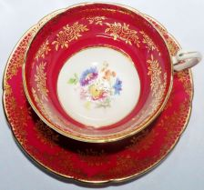 "Buy Paragon Fine Bone China Cup & Saucer ""By Appointment to her Majesty The Queen"""