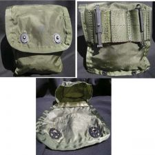 Buy MILITARY CASE WITH ALICE CLIPS VINTAGE VIETNAM ISSUE FIRST AID KIT CASE