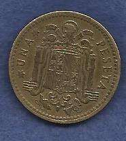 Buy Spain 1 Peseta 1953 Coin