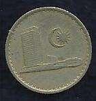 Buy Malaysia 5 Sen 1968 Coin