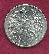Buy Austria 2 Groschen 1968 Coin -Austrian Eagle with hammer & sickle