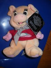 Buy Racer Harley Davidson plush pig 1997 #G86004 w/tags collectable beanie