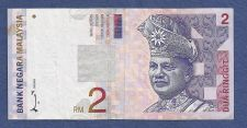 Buy MALAYSIA RM2 2 Ringet Dollars Banknote AG6810938