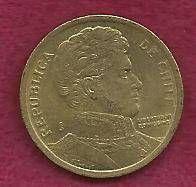 Buy Chile 10 Pesos 2000 Coin Bernardo O'Higgins