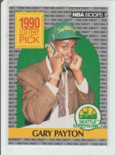 Buy GARY PAYTON 1990 HOOPS #391 1ST DRAFT PICK