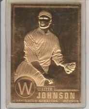 Buy WALTER JOHNSON 1996 CMG GOLD CARD #5