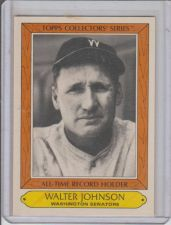 Buy WALTER JOHNSON 1985 TOPPS COLLECTORS SERIES #21