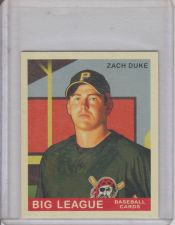 Buy ZACH DUKE 2007 GOUDEY #100