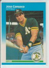 Buy JOSE CANSECO 1987 FLEER #389