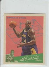 Buy SHAQUILLE O'NEAL 1997-98 FLEER (MINI) #8 OF 15GG
