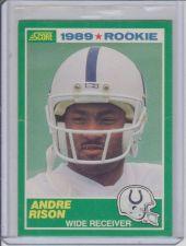 Buy ANDRE RISON 1989 SCORE #272 ROOKIE