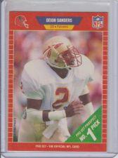 Buy DEION SANDERS 1989 PROSET NO. 1 PICK #486