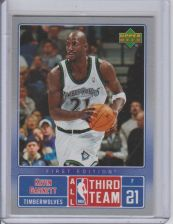 Buy KEVIN GARNETT 2007 UPPER-DECK ALL THIRD TEAM #NBA11