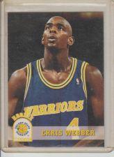 Buy CHRIS WEBBER 1994 SKYBOX #341 (ROOKIE)