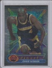 Buy CHRIS WEBBER 1994 TOPPS FINEST #120