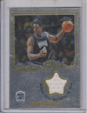 Buy CHRIS WEBBER 2003 TOPPS CHROME FRANCHISE FABRICS #FF-CW