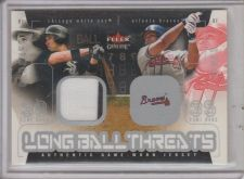Buy MAGGLIO ORDONEZ 2003 FLEER GENUINE LONGBALL THREATS JERSEY CARD