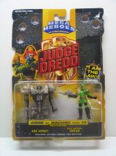 Buy Mega Heroes Judge Dredd Judge vs. Machine pack #6