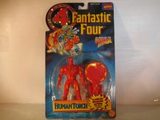Buy Fantastic Four Human Torch Flame-On Sparking Action