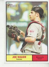 Buy 2010 Topps Heritage #2 Joe Mauer