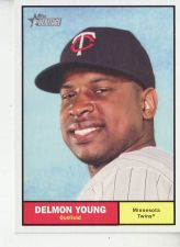 Buy 2010 Topps Heritage #4 Delmon Young