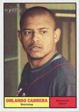 Buy 2010 Topps Heritage #21 Orlando Cabrera