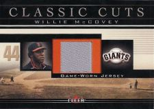 Buy 2002 Fleer Classic Cuts WM-J Willie McCovey Jersey