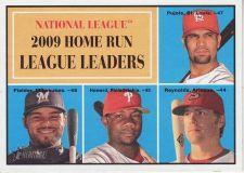 Buy 2010 Topps Heritage #43 home run league leaders
