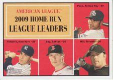 Buy 2010 Topps Heritage #44 home run league leaders
