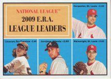 Buy 2010 Topps Heritage #45 ERA league leaders
