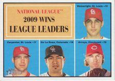 Buy 2010 Topps Heritage #47 wins league leaders