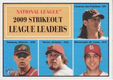Buy 2010 Topps Heritage #49 strikeout league leaders