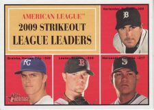 Buy 2010 Topps Heritage #50 strikeout league leaders