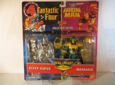 Buy Marvel Action Hour Silver Surfer & Mandarin