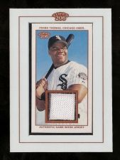 Buy 2002 Topps 206 Relics TR-FT Frank Thomas Game Worn Jersey