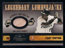 Buy Tony Gwynn 2003 Donruss Classics Legendary Lumberjacks #23 Bat Card (332/400)